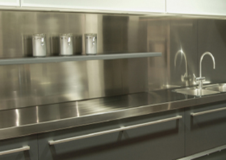 Edina, MN Stainless Steel Countertop
