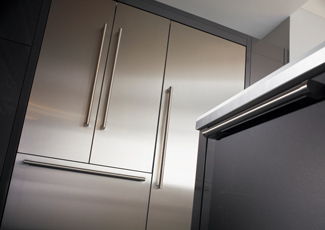 Edina, MN Stainless Steel Kitchen Cabinets