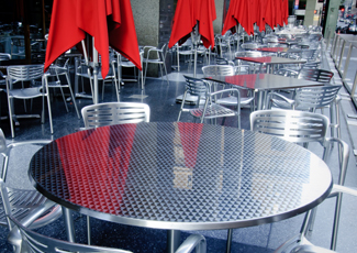St Louis Park, MN Stainless Table