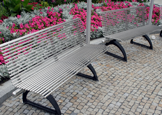 Brooklyn Park, MN Stainless Steel Benches